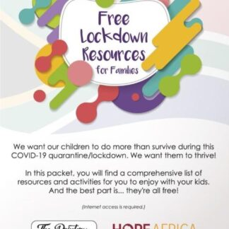 Lockdown resources for families